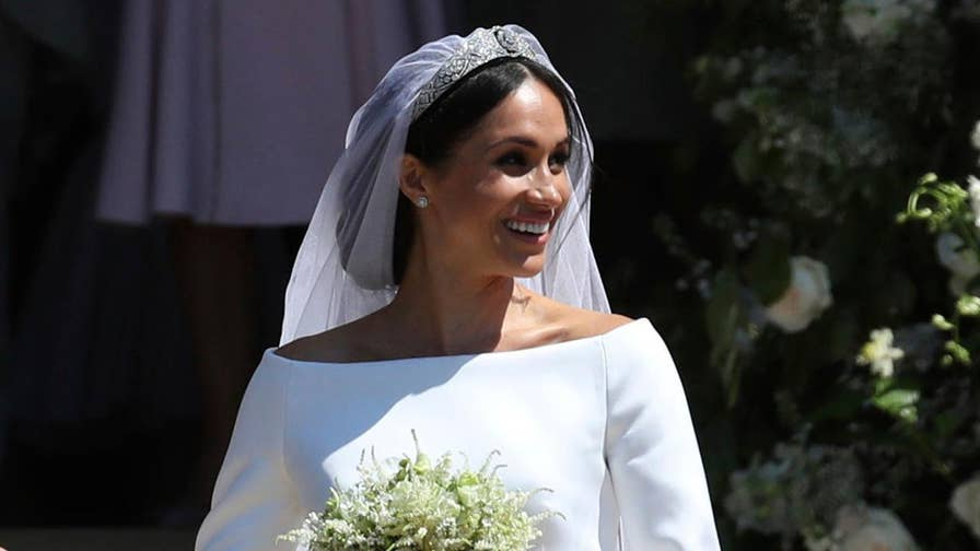 Benjamin Hall reports on big moments from the royal wedding of Prince Harry and Meghan Markle.