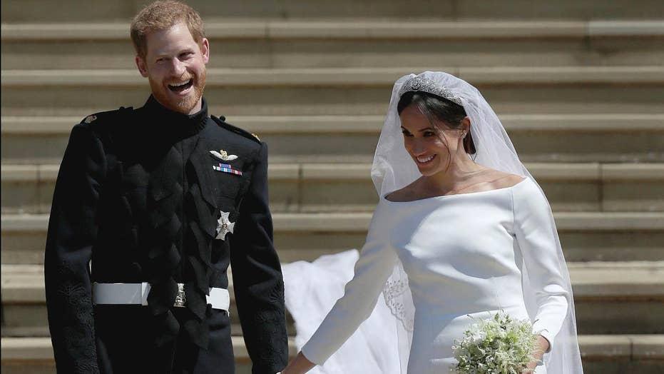 Meghan Markle weds in dress by designer Clare Waight Keller