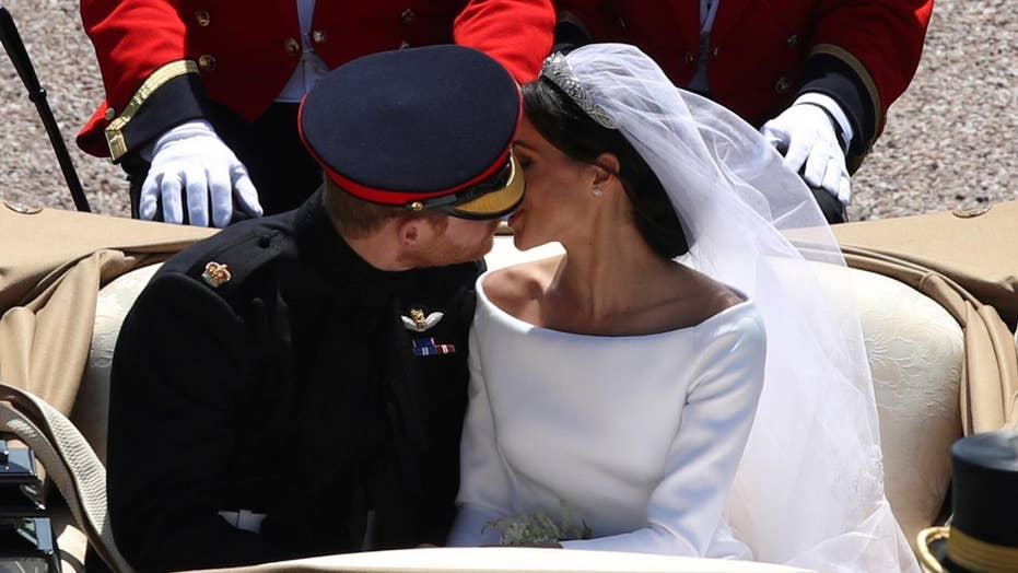 prince harry meghan markle release unseen royal wedding photos for anniversary fox news prince harry meghan markle release