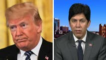 Media criticize President Trump for using the term 'animals' while discussing MS-13 members; California State Senator Kevin De Leon weighs in on 'Fox & Friends.'