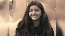 The body of Sabika Sheikh, the Pakistani exchange student who was killed in a mass shooting at Santa Fe High School, was returned to the city of Karachi Wednesday morning.