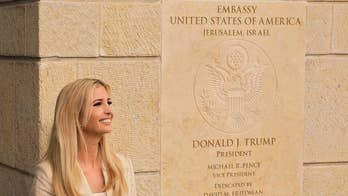 For appearance at U.S. embassy in Jerusalem