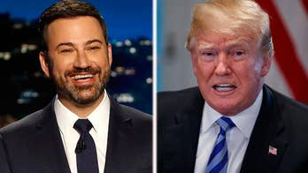 Jimmy Kimmel: Seeing Trump with Obama, Clintons was like 'all of America's divorced parents together'