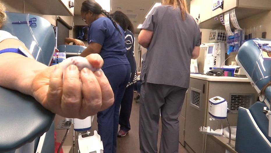 Texans provide surplus blood supply after shooting