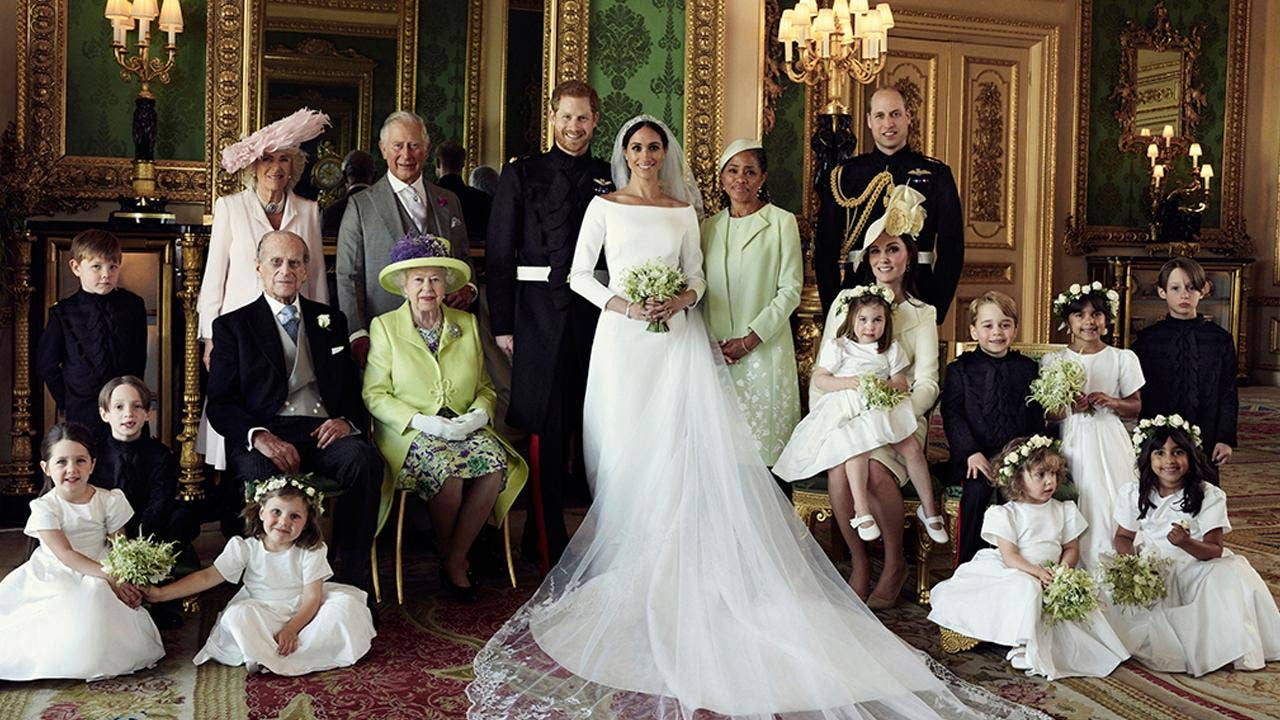 Meghan Markle, Prince Harry release official royal wedding photos