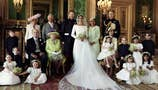 Meghan Markle, Prince Harry release official royal wedding photos