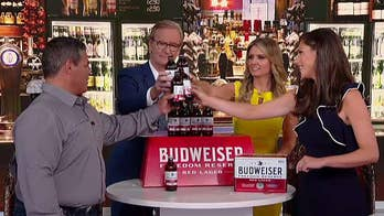Budweiser brews a specialty beer for veterans.