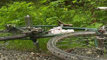 Officials say the cyclist got off the bike and tried to scare the underweight cougar. Dan Springer has the details.