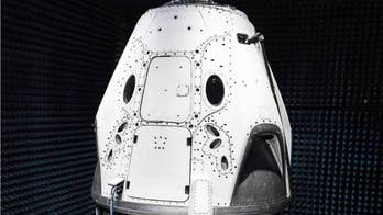 Elonk Musk shared a photograph of its next generation SpaceX Dragon capsule.