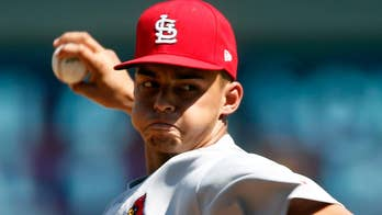 St. Louis Cardinals pitcher Jordan Hicks makes MLB history and lights up the radar gun with two pitches registering at 105 mph.