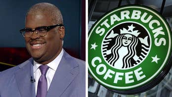 Starbucks announces new policy that no purchase is needed to use restrooms or hang out in cafes; Fox Business Network's Charles Payne reacts on 'Your World.'