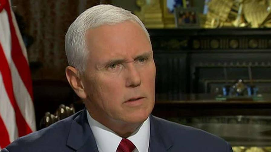 Catch Martha MacCallum's exclusive interview with Vice President Mike Pence on 'The Story' at 7 p.m. ET.