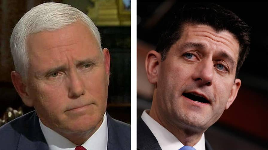 Exclusive: Vice President Mike Pence joins 'The Story' to discuss whether House Speaker Paul Ryan should step down before November's midterm elections.