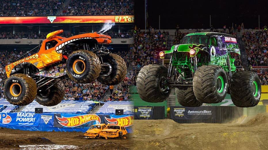 The Monster Jam Garage Is A Supersize Hotbed Of American