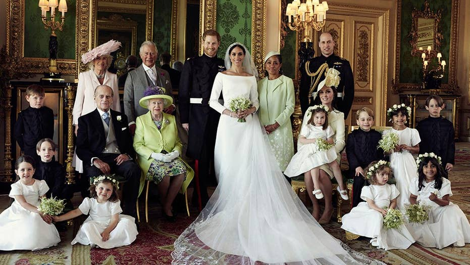 Meghan Markle, Prince Harry recover central matrimony photos