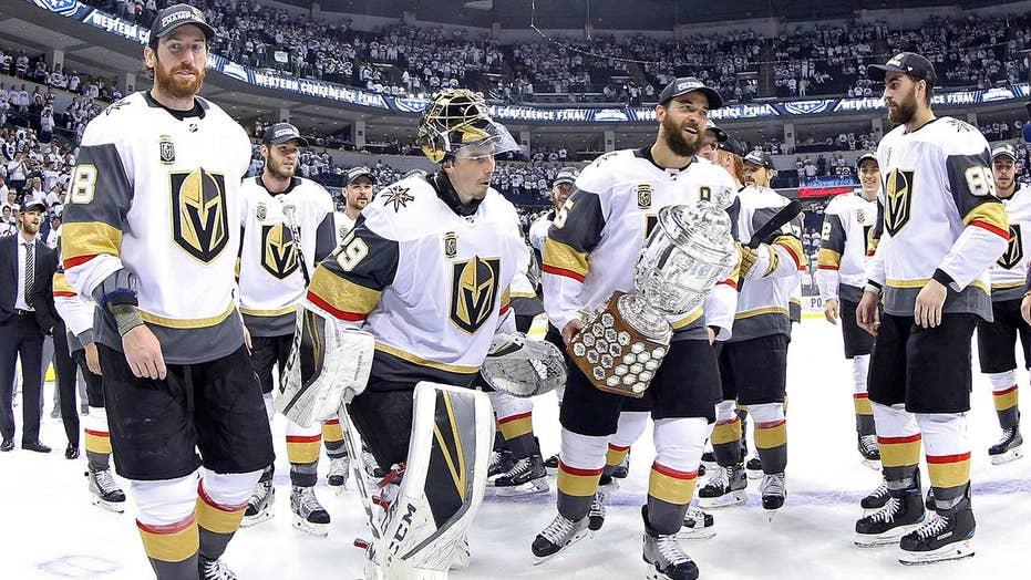Vegas Golden Knights reach Stanley Cup Finals