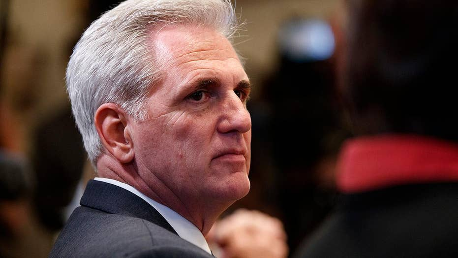 Kevin McCarthy denies he's trying to push out Paul Ryan