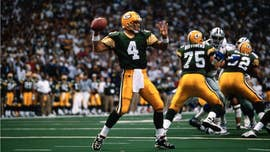 Hall of Fame quarterback Brett Favre revealed Monday that he took 14 Vicodin at one time once and ended up in rehab three times during his NFL career.