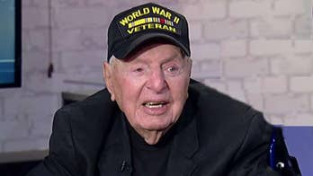 WWII veteran continues cross-country quest to meet every state governor, then meeting with the president on his 100th birthday.