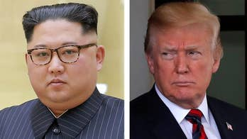 Following his Oval Office meeting with SoKo President Moon, President Trump states the summit with North Korea may not work out for June 12; FBN's Blake Burman has the latest.