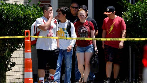 Students return to Santa Fe High School