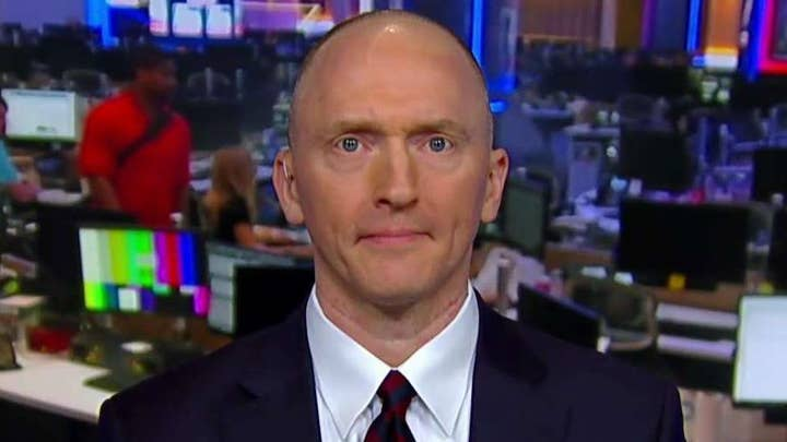 Carter Page on interactions with alleged FBI informant