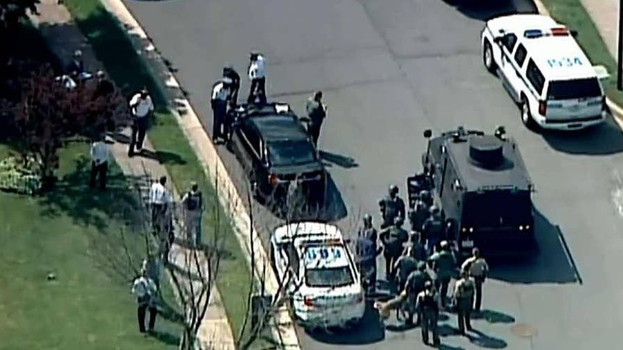 Manhunt intensifies for 3 other suspects in Baltimore.