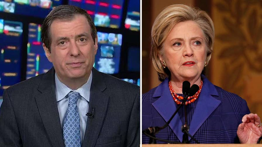 'MediaBuzz' host Howard Kurtz weighs in on Hillary Clinton's continuing to pile on the blame for her election loss.