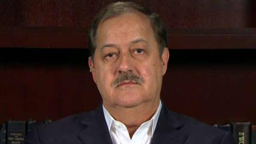 Ex-coal baron Don Blankenship to challenge West Virginia's 'sore loser' law after losing the Republican primary.