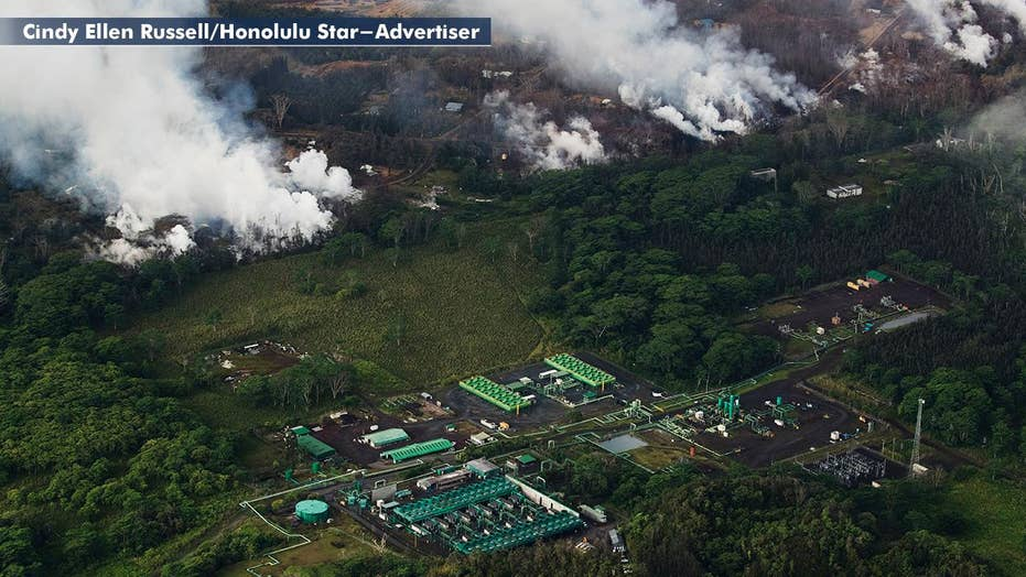 New concerns as lava flow nears geothermal plant in Hawaii