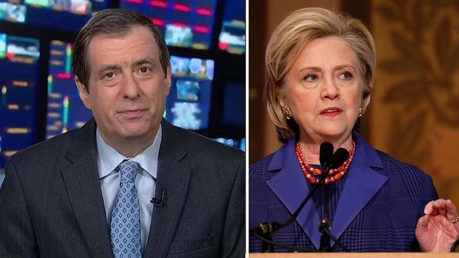 Kurtz: Hillary, the media and the sore loser narrative