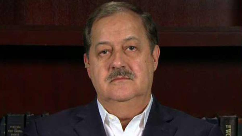 Don Blankenship on third-party Senate bid in West Virginia