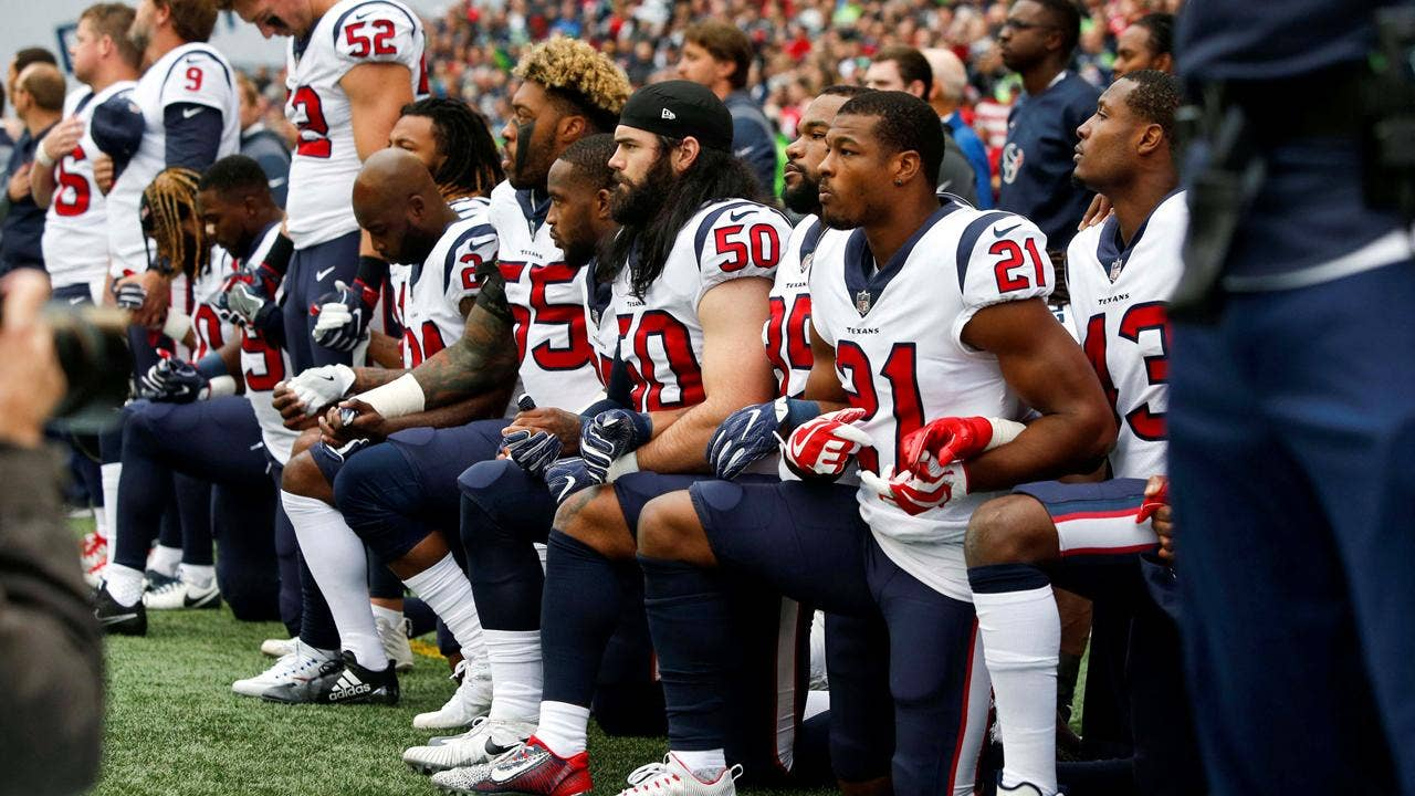 NFL adopts policy to fine teams if players and personnel don't stand for national anthem