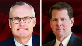 Georgia Lt. Gov. Casey Cagle and Secretary of State Brian Kemp advanced to a July runoff vote Tuesday night in the state's GOP race for governor, after grueling campaigns that saw the candidates battling over who carried the most social conservative credentials.