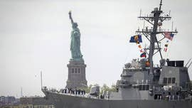New York City's ongoing Fleet Week is offering dozens of free events to the public, ranging from ship tours to Marines martial arts demonstrations, but sailors say some of the things they are looking forward to the most aren't found anywhere else.