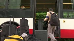 Small group of regime-picked reporters to take 8-12 hour train ride, bus ride, then make one-hour hike to North Korean facility; Greg Palkot reports from Seoul.