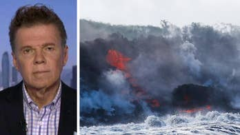 New threat for residents of Big Island, Hawaii as lava reaches the Pacific ocean; Physicist Michael Guillen breaks down the various dangers residents are facing on 'Your World.'