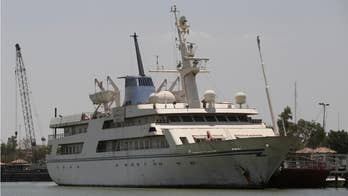 Saddam Hussein's superyacht has been transformed into a hotel and recreational facility.
