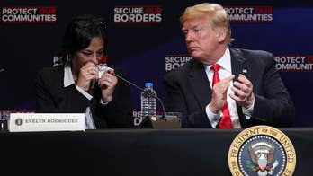 President Trump participated in a discussion on combating MS-13 in Long Island, New York; the Nassau County police PBA president reacts on 'The Story.'