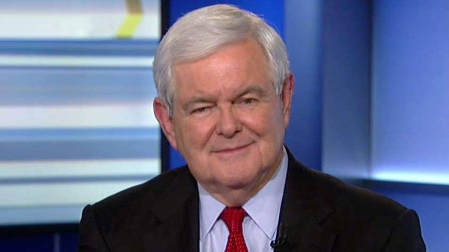 Once-dire polls now point to Republican leads; reaction from former Speaker of the House Newt Gingrich on 'The Ingraham Angle.'