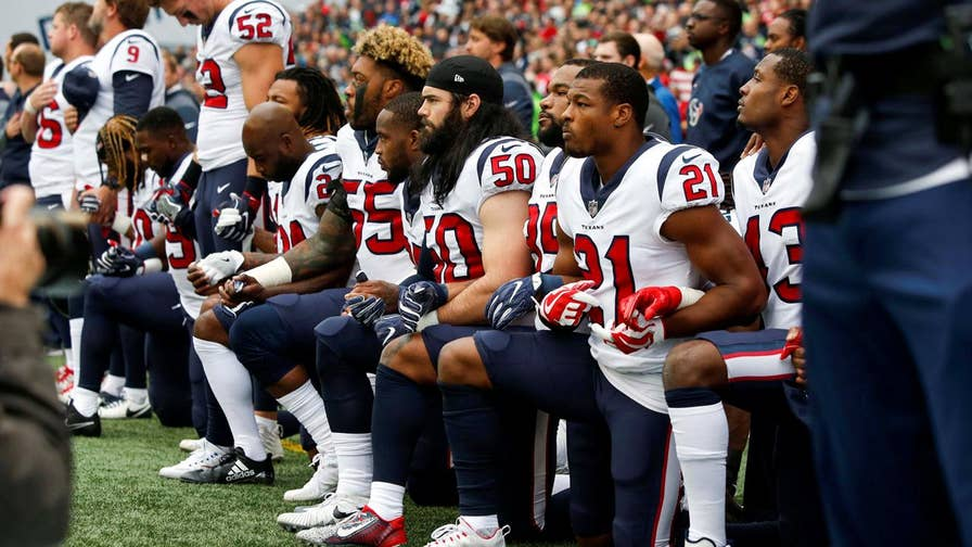 The NFL has announced a new policy they are adopting which would fine teams and league personnel who did not 'stand and show respect for the flag and the Anthem.'