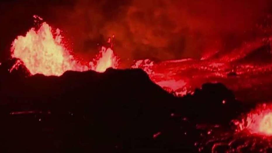Lava reaches Hawaii power plant