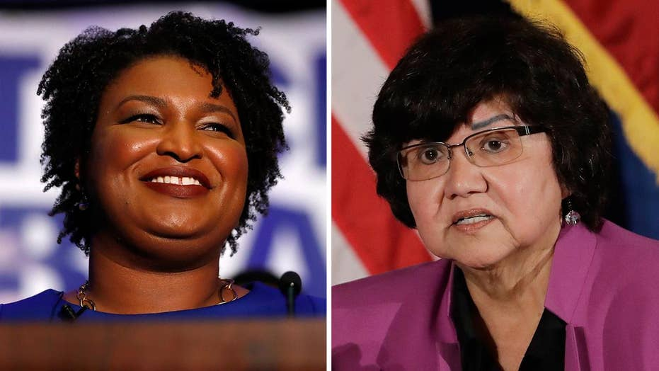 Women win Dem primaries for governor in Georgia, Texas