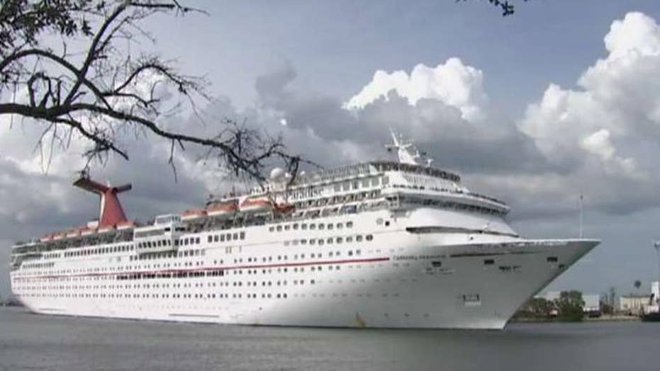 Search underway for missing cruise ship passenger