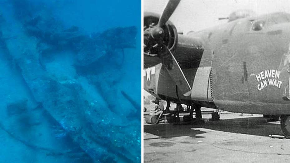 Wreckage of WWII B-24 bomber discovered 74 years after it was shot