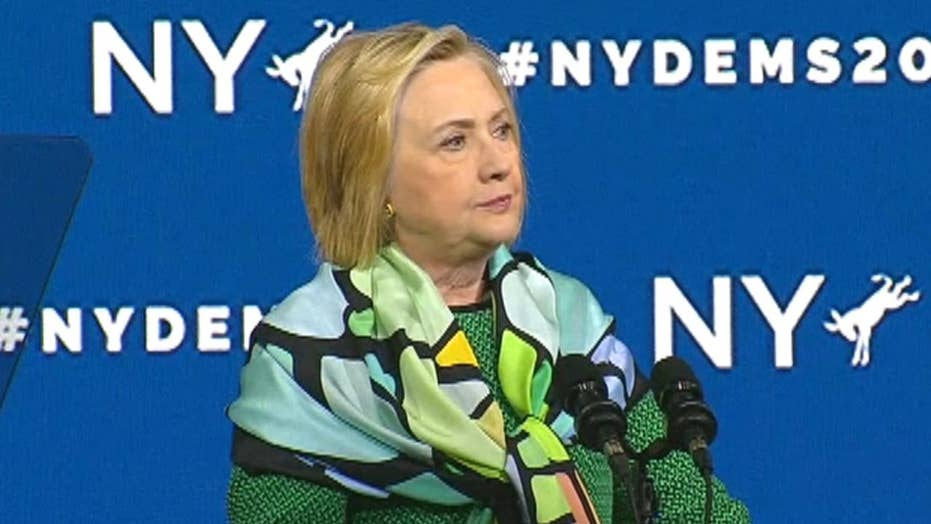 Hillary Clinton: We need leaders like Andrew Cuomo