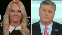 Tomi Lahren has a drink thrown at her while eating at a restaurant with her parents; the Fox News contributor speaks out on 'Hannity.'