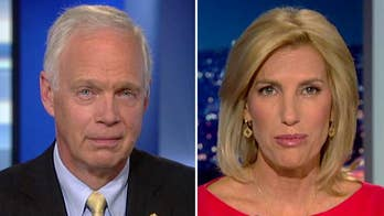 Senator Ron Johnson sent a letter to FBI Director Wray requesting information on Comey's briefing of Trump on the Steele dossier; the senator explains on 'The Ingraham Angle.'