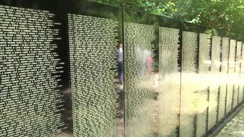 A group of veterans and volunteers are working to make sure those who can't travel to Washington get a chance to honor fallen soldiers from the Vietnam War