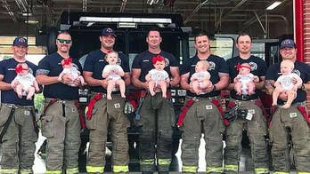 Oklahoma firefighters open up about fatherhood.